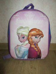 Детский 3D рюкзак с Анной и Эльзой