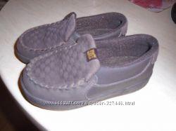 Кожаные туфли-мокасины Dolce&Gabbana, оригинал. разм-25, 5. стелька-15см, U