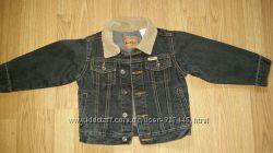 Джинсовый пиджак, куртка, ветровка  LEVIS оригинал. 3-4 года.