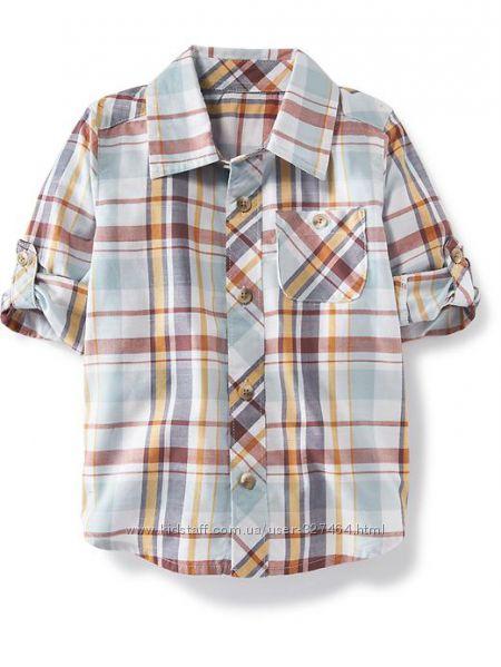 Рубашка шведка 2 в 1 OLD NAVY 5Т