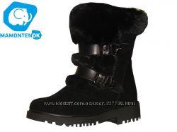 Зимние ботинки с мехом 7271 , р 32-37
