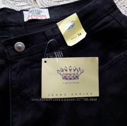 продам новые черные джинсы 34 размер плотный коттон