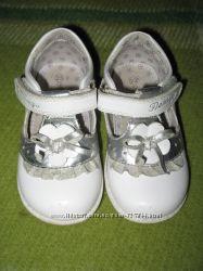 Белые туфли Фламинго 15 см
