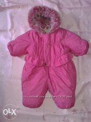 зимний сдельный комбинезон для девочки Lenne Baby