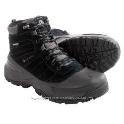 Зимние, теплые, непромокаемые, ботинки, Columbia, мужская, обувь, Коламбия,