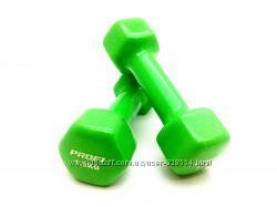 Гантели виниловые для фитнеса 1кг, 1. 5 кг, 2 кг, 3 кг