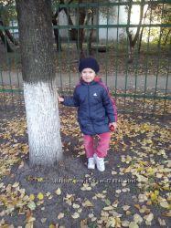 Курточка ADIDAS на 4-5 лет