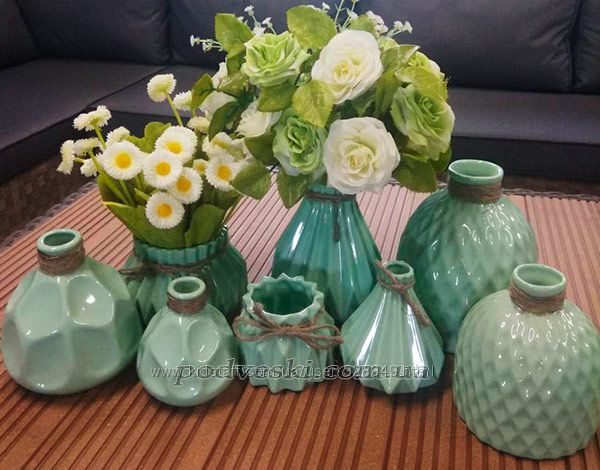 Новая коллекция керамических ваз Eterna Алхимия