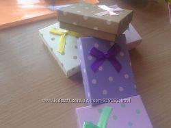 Подарочные коробочки картон