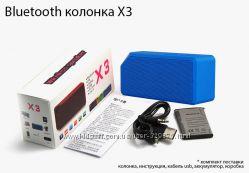 Bluetooth колонка X3 блютуз колонка