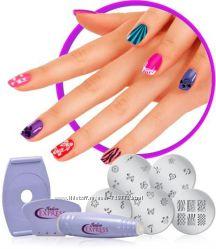 Стемпинг для дизайна ногтей
