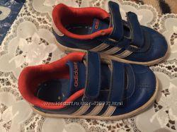 Кроссовки adidas. р24. 15-15. 5см. б. У