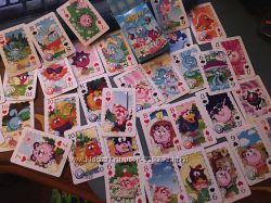 Карты игральные. Сувенирные. Детские. 55 разных вариантов