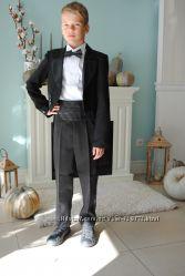 нарядные костюмы и комплекты -фраки, смокинги, жилеты, рубашки и бабочки