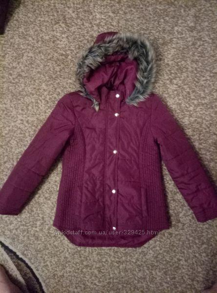 Стильная демисезонная курточка, р. 11-12 лет
