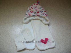 наборчик шапка шарфик рукавички