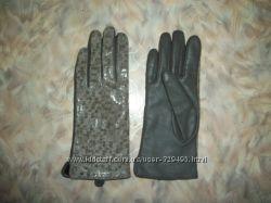 перчатки кожаные ACCESSORIZE