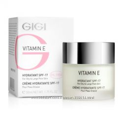 GiGI Vitamin E Крем для комби и жирной кожи SPF 17 распив