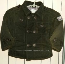 Стеганная куртка Chicco осеньтеплая зима на рост 74см