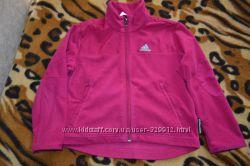 8a61e92c92d Фирменная флисовая кофта Adidas р. 5-6 лет