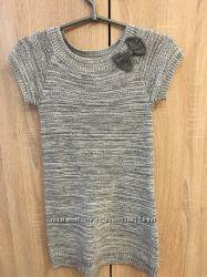 Вязанное тёплое платье Crazy8 7-8 лет