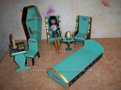 Monster High. Мебель в кукольный домик Монстер Хай.