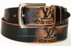 Кожаный ремень Премиум класса LV Louis Vuitton, Цена Снижена