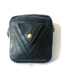 Кожаная сумочка борсетка, Распродажа