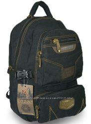 Модный  рюкзак текстильный брезент , Распродажа