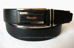 Кожаный ремень WRANGLER - автомат, Распродажа