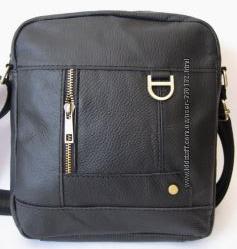 Кожаная мужская сумка модель 2016 - 2017
