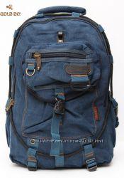 Прочный практичный рюкзак известного бренда Gold Be