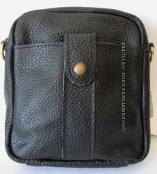 Кожаная мужская сумочка на плечо, Распродажа