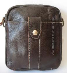 Кожаная сумочка - Натуральная Кожа коричневого цвета