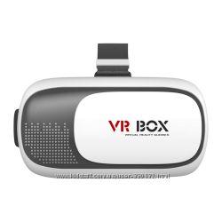 Очки шлем виртуальной реальности VR BOX - 3D  игры, фильмы