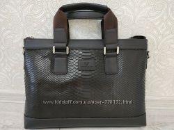 Кожаный мужской портфель армани ARMANI, сумка портфель из натуральной кожи