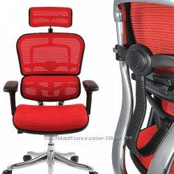 Бесплатная доставка -  Кресло компьютерное  ERGOHUMAN Эргохьюмен  - сетка