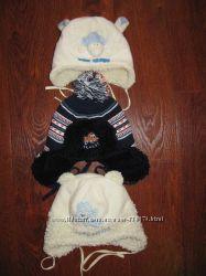 Зимнии шапки одна до 1 года и 2-3 года
