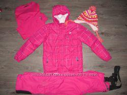 Яркий Лыжный комплект Dare 2B - куртка, штаны, шапка, термобелье