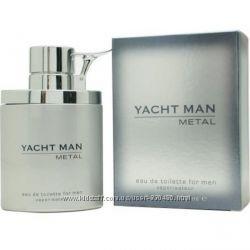 Продам оригинал Yacht man metal 100 мл мужская туалетная вода