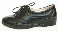 418. Туфли Alpina Словения кожа 37 р. как новые