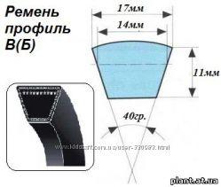 Ремень приводной клиновой профиль ВБ-2800, СВ-2800, СВ-4000