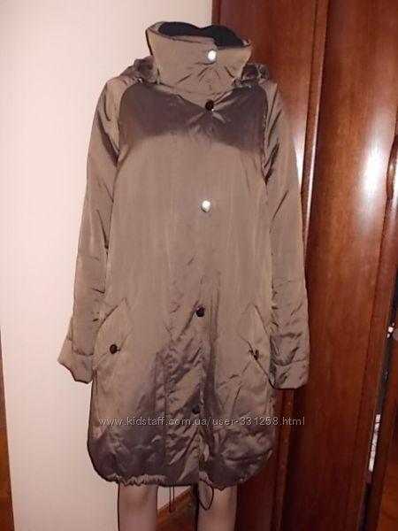 Удлиненная куртка-парка на мембране gore-tex - размер 46 европейский
