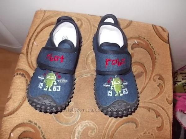Джинсовые мокасики- Вobbi Shoes - размеры с 25-го по 30-й, защищенный носок