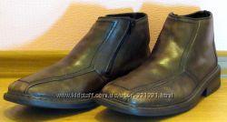 Мужские кожаные утепленные ботинки Rieker, р. 43