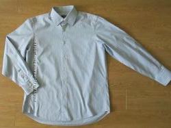 Фирменная рубашка Hugo Boss, p. XL, ворот 43 см