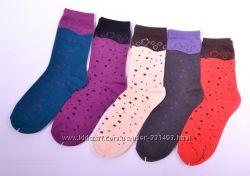 Женские носочки, упаковка 5 пар. Европа, хлопок.
