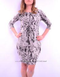 Трикотажное платье под рептилию, три цвета. Польша