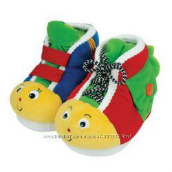 Развивающие ботиночки на маленькие ножки Ks Kids