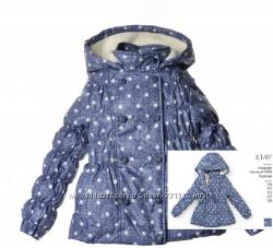 Демисезонная куртка ТМ Бемби для девочки КТ97 р. 122